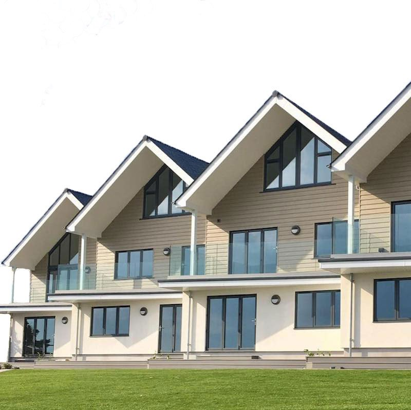 Cladding, Fascias and Soffits on a new development in Praa Sands, Cornwall