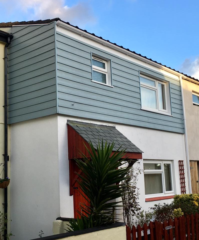 We used Marley Eternit cladding on this job as it provided the right shade for the customer's requirements