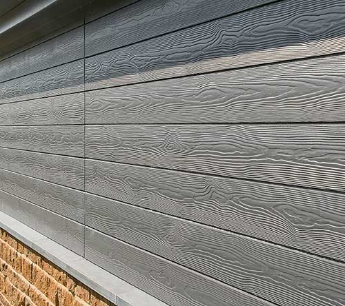 Cedral Click cladding is a flush finish for a more contemporary look