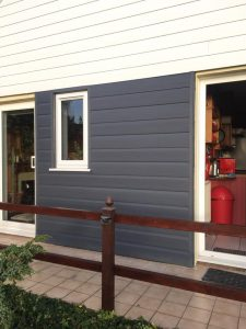 2 tone cladding effect adds a nice touch to the exterior