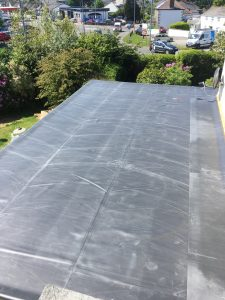 Firestone EPDM left to relax