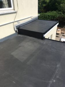 Firestone roof dry and completed
