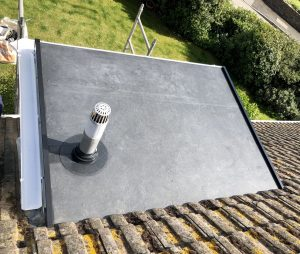 Firetsone EPDM flat roof