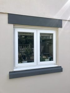 leyland pliolite painted cills and lintels